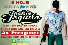 ACE Realiza Musica ao vivo na Av. Paraguaçu com Jackie Tequila + sorteio de brindes