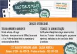 Vestibulinho 2º semestre 2016