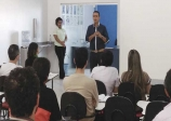 Coleta de lixo foi tema da reunião promovida com empresários na Associação Comercial