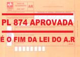 A Associação Comercial comemora FIM DA LEI DO A.R