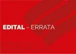 Edital - Errata