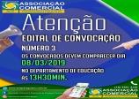 Edital de convocação 03-2019