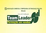Nova Turma - Curso de Certificação Team Leader – Formação em Vendas