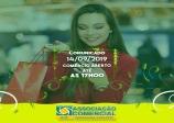Neste sábado dia 14, o comércio ficará aberto até as 17 horas.