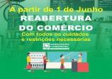 Reabertura  responsável do Comércio de Paraguaçu Paulista