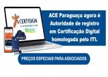 ACE Paraguaçu agora é Autoridade de Registro