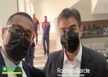 O Presidente da ACE Fábio Santos, reforça pedido de Posto Fiscal para o Município