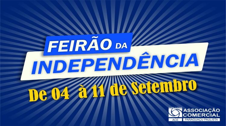 Notícia: Vem aí o Feirão da Independência