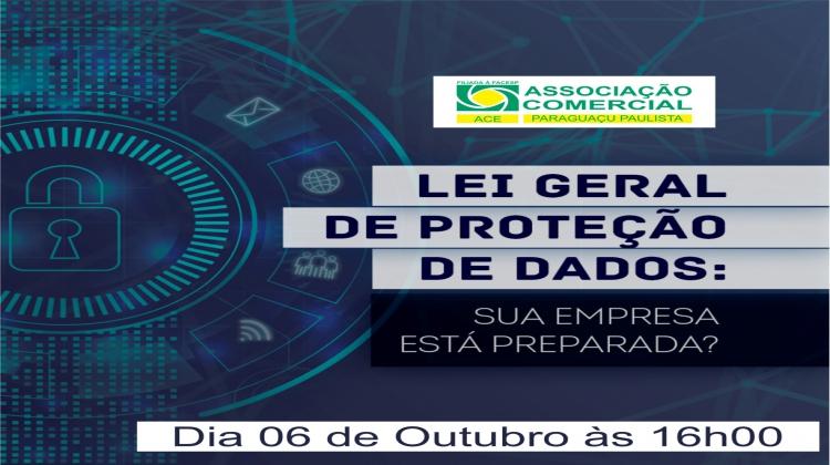 Notícia: Prepare sua empresa para a LGPD – Lei Geral da Proteção de dados