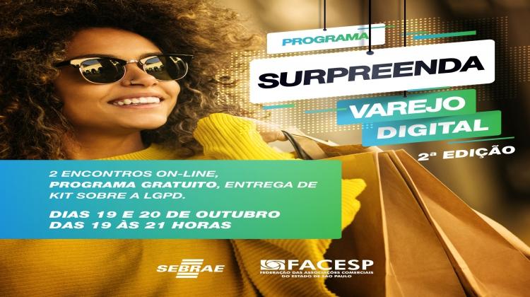 Notícia: Nova edição do Surpreenda Varejo Digital