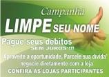 Confira as empresas participantes da Campanha LIMPE SEU NOME 2016